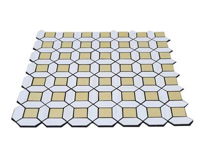 Металлическая мозаика,